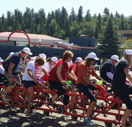 Big Bike Fundraiser - Royal LePage Prince George Community Involvement