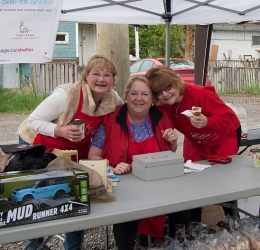 Garage Sale Fundraiser at Royal LePage Prince George Community Involvement